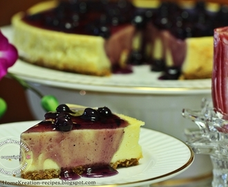 Blueberry Cheesecake (Again)