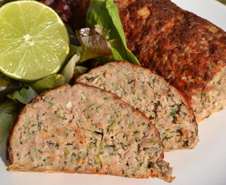 Turkey meatloaf with sage and parsley