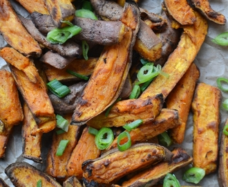 Chinese Spiced Sweet Potato Fries