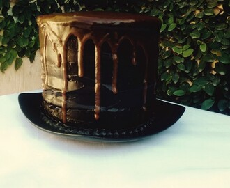 Dark Chocolate - Bourbon Caramel Cake