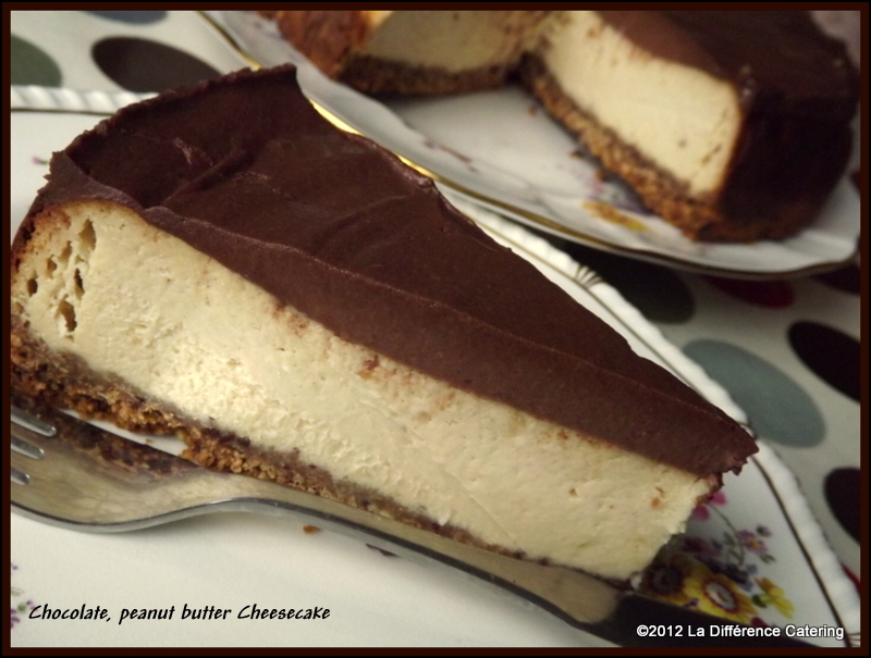 Chocolate, Peanut Butter Cheesecake