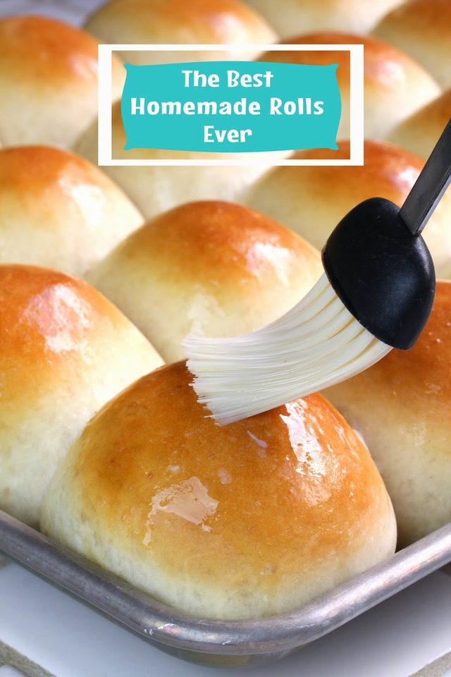 The Best Homemade Dinner Rolls Ever!