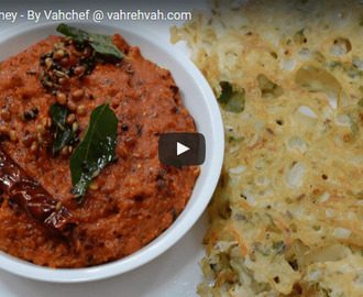 Onion Chutney Recipe Video