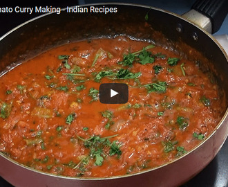 Tomato Curry Recipe Video