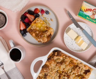 Recipe: Make-Ahead Lemon Ricotta French Toast Bake