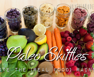 Paleo Skittles - Homemade Real Food Dehydrator Recipe - Snack for Kids