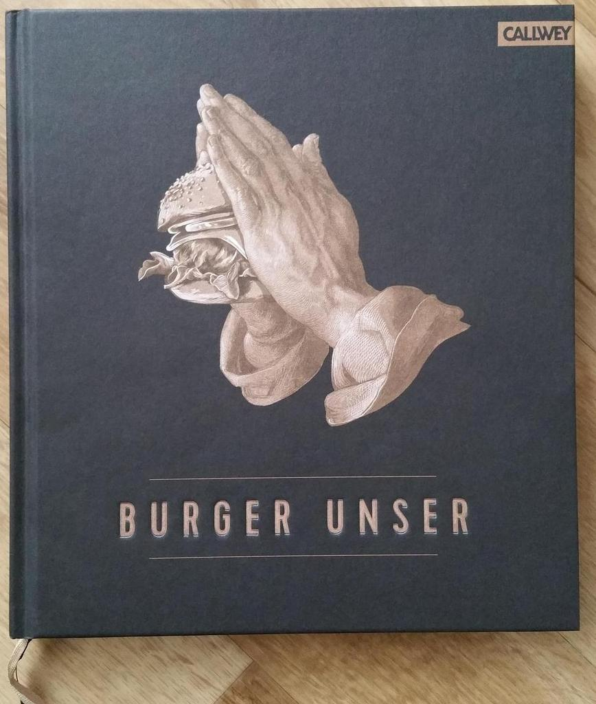 Burger Unser - Buchtipp »{Sponsored Post}«