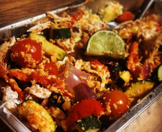Slimming World friendly- Mediterranean Vegetable Cauliflower Couscous