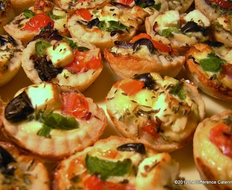 Greek Salad Tartlettes