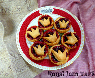 Royal Jam Tarts (recipe by Ruth Clemens for Patron's Lunch)