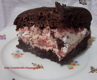 TORTA CHOCOLATE MERENGUE