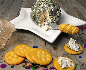 Olive and Thyme Cheese Ball