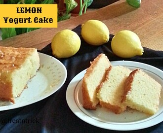 LEMON YOGURT CAKE RECIPE