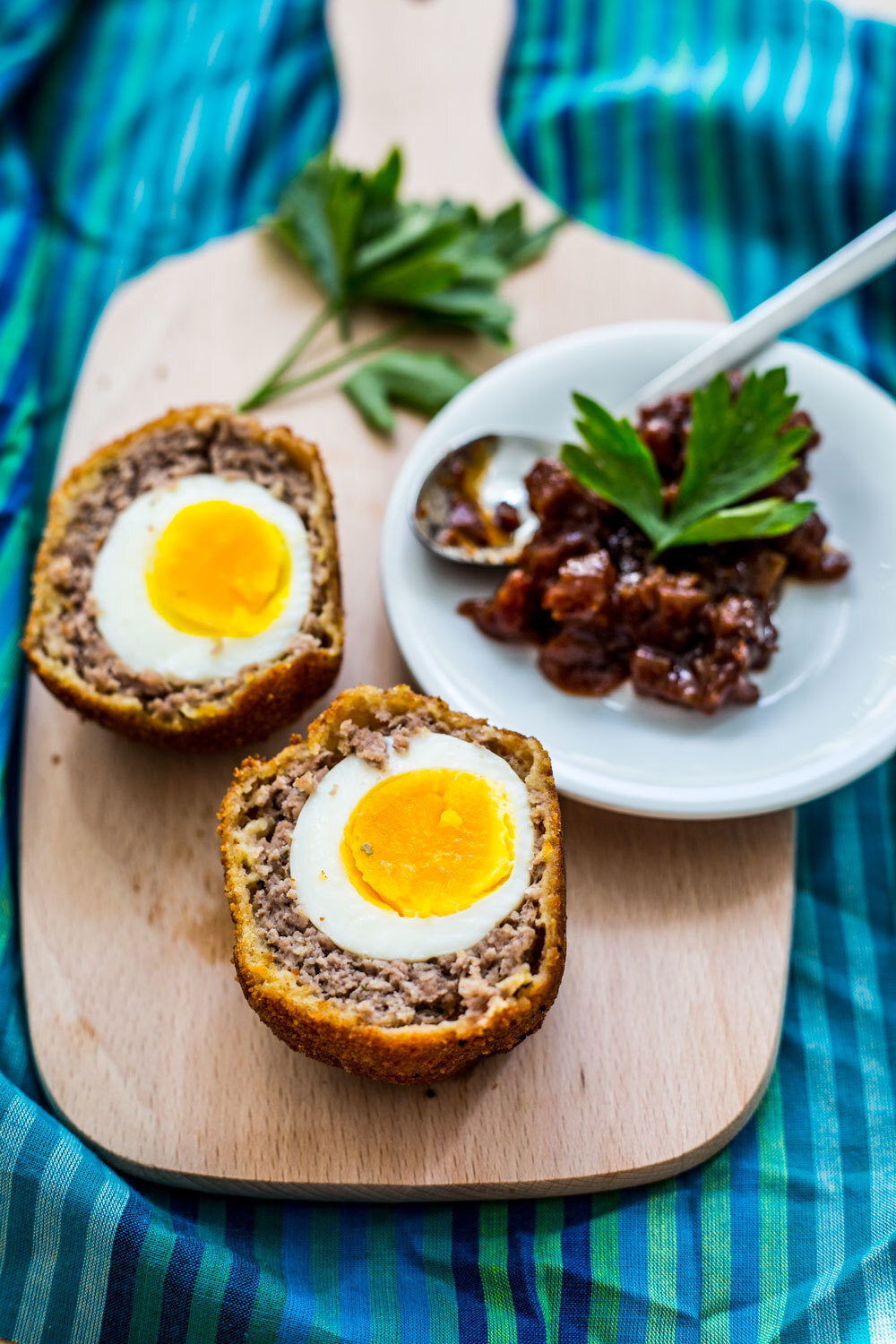 A Scotch Egg Recipe for My Dad