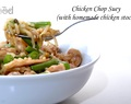 Chicken Chop Suey (with homemade chicken stock)