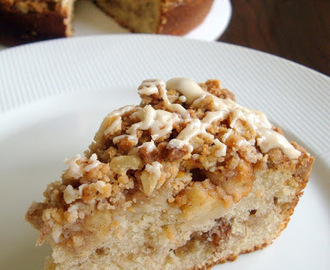 Apple Cinnamon Sour Cream Coffee Cake