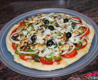 Pizza Vegetal.