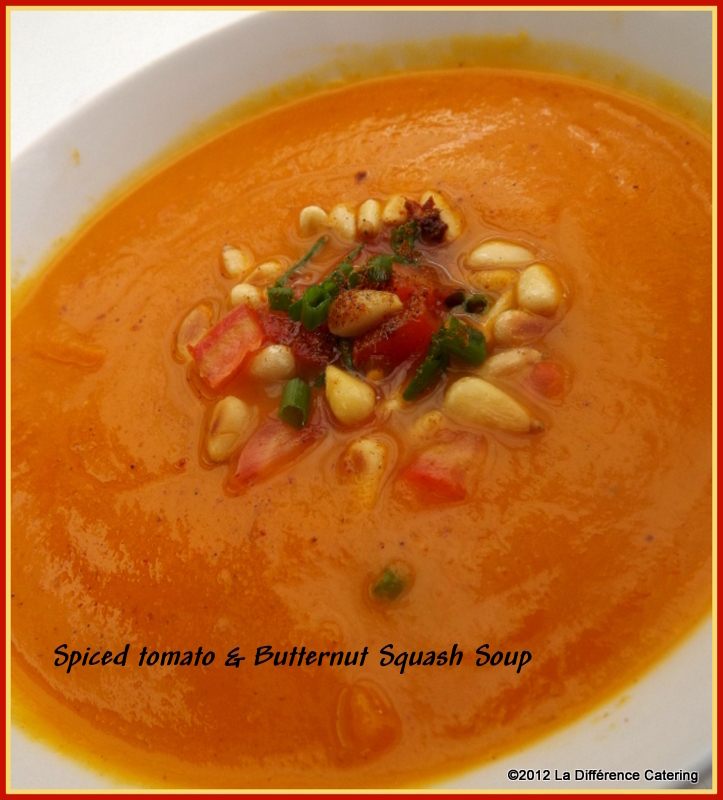 Spicy Tomato & Butternut Squash Soup