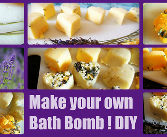 DIY BadeBombe selber machen ! Make your bath Bomb
