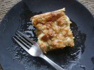 Gluten and Dairy Free Baked French Toast