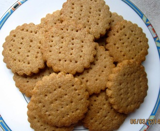 VICTORIANISCHES GEBÄCK - ENGLISH DIGESTIVE BISCUITS