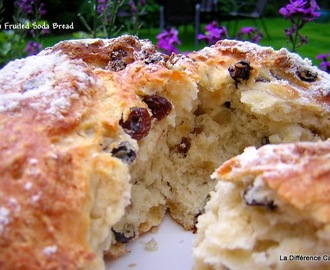 Irish Fruited Soda Bread