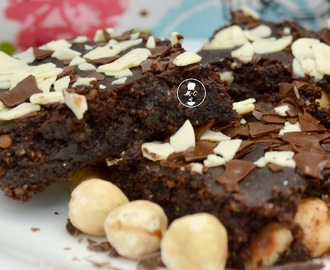 Brownie Vegano con Avellanas