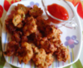 Mix Veg Pakora (mix vegetable fritters)