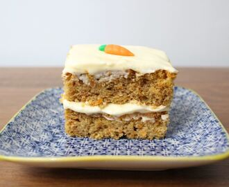 Gluten free carrot cake slice recipe