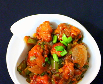 chicken manchurian recipe | how to make chicken manchurian dry and gravy