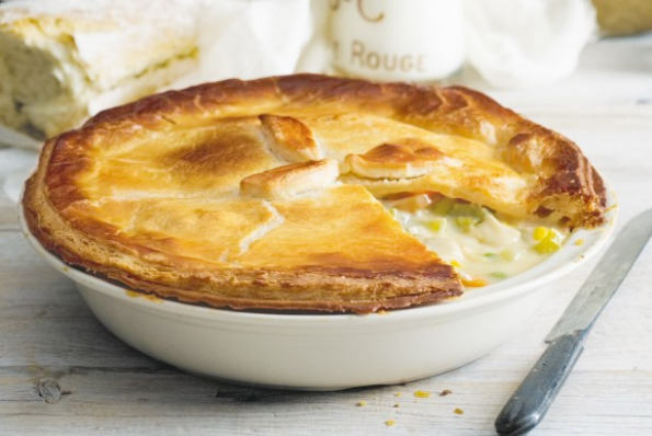 Chicken Pie Recipes - How To Cooking Chicken Pie