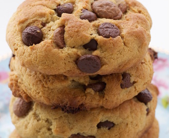 Cookie com Gotas de Chocolate, muitas Gotas