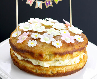 Lemon Drizzle Birthday Cake