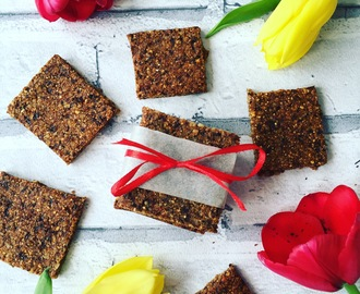 Clean eating energy bars recipe
