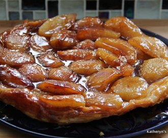Upside Down Apple Tart (Tarte Tatin)