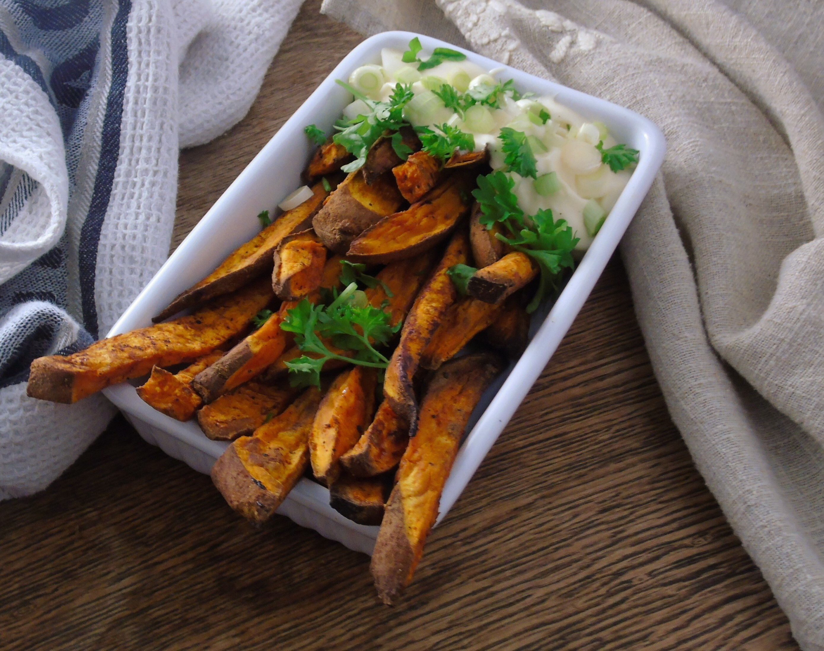 Syn Free Crispy Sweet Potato Fries | Slimming World