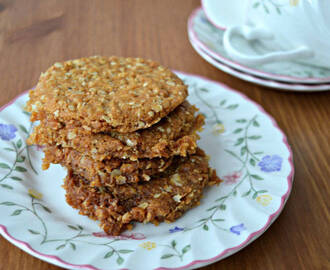 Anzac Biscuits and Ice Cream Sandwiches