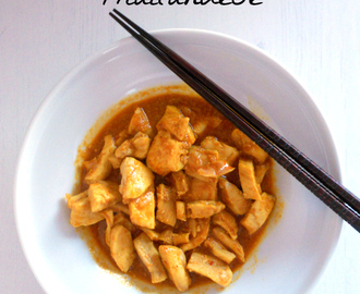 Curry di pollo thailandese - Thai chicken curry