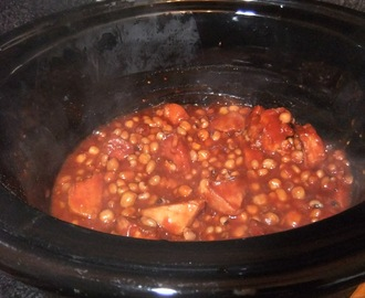 Recipe - Slow Cooker HillBilly Beans
