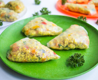 Chicken Summer Samosas (Gluten Free, Low FODMAP)