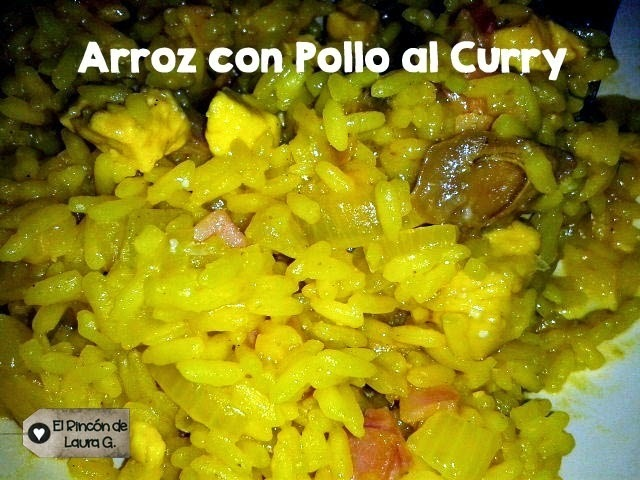 Receta de Arroz con Pollo al Curry