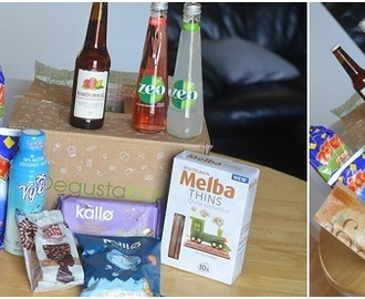 June Degustabox Review and Kallo Rice Cake Based Toffee Cheesecake Recipe