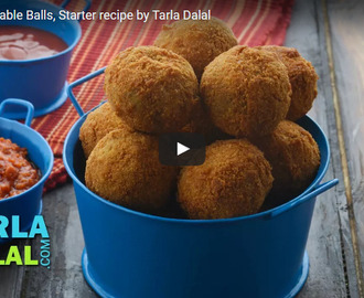 Fried Vegetable Balls Recipe Video