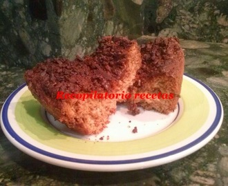 Bizcocho de pepitas de chocolate en thermomix