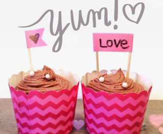 Double Chocolate Cupcakes...
