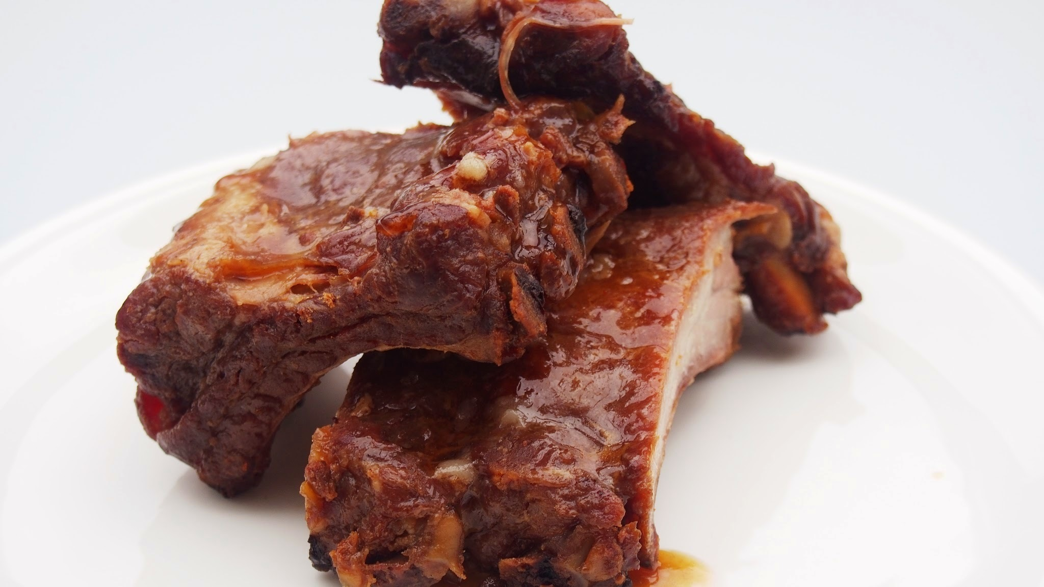 Chinese sticky ribs with star anise marinade