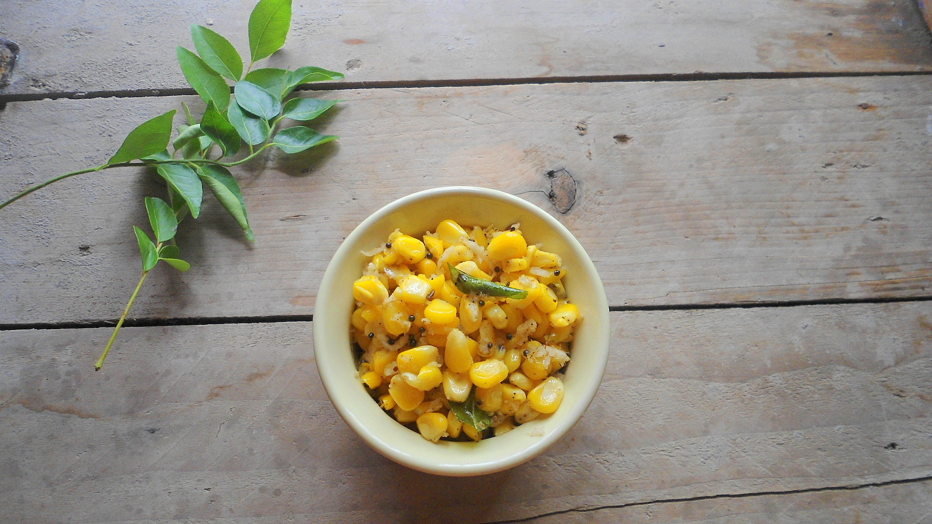 Sweet Corn Sundal | Easy Snack Recipe