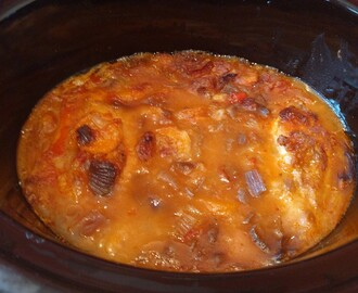 Chilli chicken stew