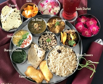 Sindhi Thali with Protein Rich Soyabean