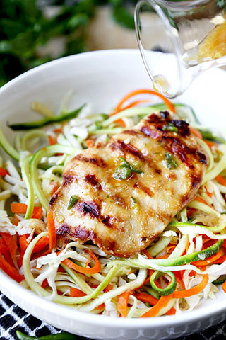 Thai Chicken Zoodles